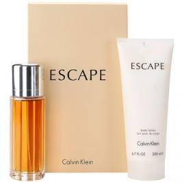 Calvin Klein Escape dárková sada III. parfémovaná voda 100 ml + tělové mléko 200 ml