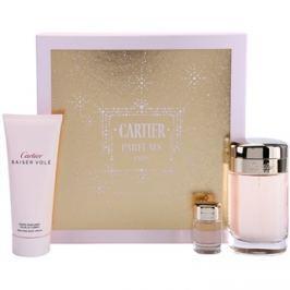 Cartier Baiser Volé dárková sada XI.  parfémovaná voda 100 ml + tělový krém 100 ml + parfémovaná voda 6 ml