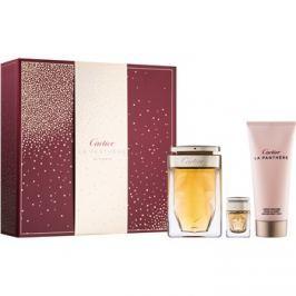 Cartier La Panthère dárková sada II. parfémovaná voda 75 ml + tělové mléko 100 ml + parfémovaná voda 6 ml