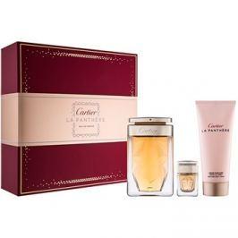 Cartier La Panthère dárková sada III. parfémovaná voda 75 ml + tělový krém 100 ml + parfémovaná voda 6 ml
