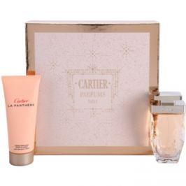 Cartier La Panthere Légère dárková sada I.  parfémovaná voda 75 ml + tělový krém 100 ml
