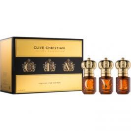 Clive Christian Private Collection dárková sada I.  parfémovaná voda 3 x 10 ml