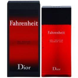 Dior Fahrenheit sprchový gel pro muže 200 ml