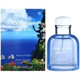 Dolce & Gabbana Light Blue Beauty of Capri toaletní voda pro muže 75 ml