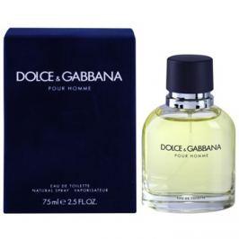 Dolce & Gabbana Pour Homme toaletní voda pro muže 75 ml