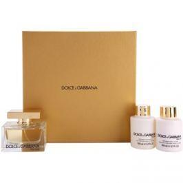 Dolce & Gabbana The One dárková sada I. parfémovaná voda 75 ml + tělové mléko 100 ml + sprchový gel 100 ml