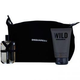 Dsquared2 Wild dárková sada III. toaletní voda 50 ml + sprchový gel 100 ml + kosmetická taška