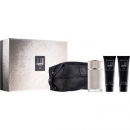 Dunhill Icon dárková sada V.  parfémovaná voda 100 ml + sprchový gel 90 ml + balzám po holení 90 ml + kosmetická taška 1 ks