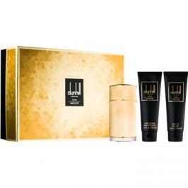 Dunhill Icon Absolute dárková sada II.  parfémovaná voda 100 ml + sprchový gel 90 ml + balzám po holení 90 ml + taštička