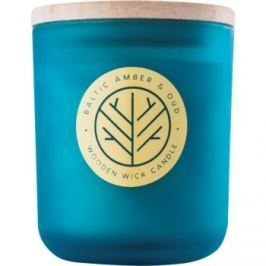 DW Home Baltic Amber & Oud vonná svíčka 320,35 g s dřevěným knotem