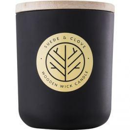 DW Home Black Suede & Clove vonná svíčka 320,35 g s dřevěným knotem
