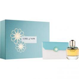 Elie Saab Girl of Now dárková sada I.  parfémovaná voda 50 ml + taštička