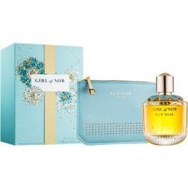 Elie Saab Girl of Now dárková sada III.  parfémovaná voda 50 ml + taška 1 ks