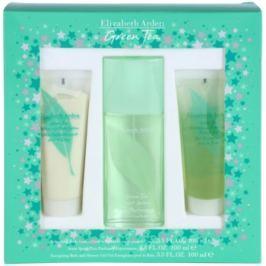 Elizabeth Arden Green Tea dárková sada XXIV. parfémovaná voda 100 ml + tělové mléko 100 ml + sprchový gel 100 ml