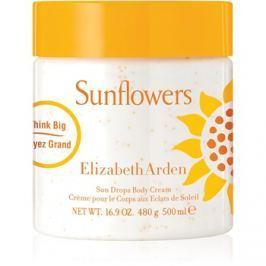Elizabeth Arden Sunflowers Sun Drops Body Cream tělový krém pro ženy 500 ml