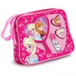 EP Line Frozen dárková sada II.  taštička 1 ks + balzám na rty 1 ks + lesk na rty 2x + kosmetické zrcátko 1 ks