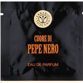 Erbario Toscano Black Pepper parfémované ubrousky pro muže 7 ks