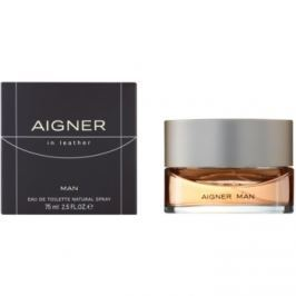 Etienne Aigner In Leather Man toaletní voda pro muže 75 ml