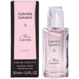 Gabriela Sabatini Miss Gabriela Night toaletní voda pro ženy 30 ml