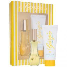 Giorgio Beverly Hills Yellow dárková sada I.  toaletní voda 90 ml + tělové mléko 200 ml