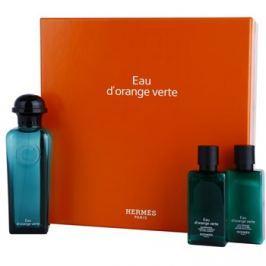 Hermès Eau d'Orange Verte dárková sada III. kolínská voda 100 ml + tělové mléko 40 ml + šampon 40 ml