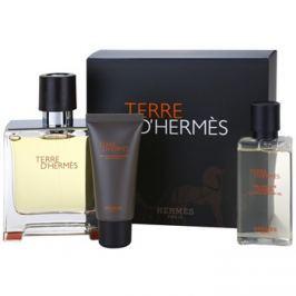 Hermès Terre d'Hermès dárková sada VIII. parfém 75 ml + balzám po holení 15 ml + sprchový gel 40 ml