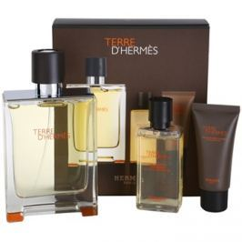Hermès Terre d'Hermès dárková sada I. toaletní voda 100 ml + sprchový gel 40 ml + balzám po holení 15 ml