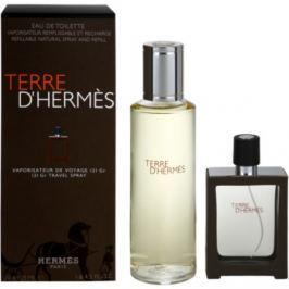 Hermès Terre d'Hermès dárková sada XVI. toaletní voda plnitelná 30 ml + toaletní voda náplň 125 ml