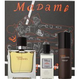 Hermès Terre d'Hermès dárková sada XVIII.  parfém 75 ml + voda po holení 40 ml + pěna na holení 50 ml
