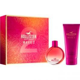 Hollister Wave 2 dárková sada I.  parfémovaná voda 100 ml + tělový krém 200 ml