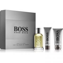 Hugo Boss Boss Bottled dárková sada III. toaletní voda 100 ml + balzám po holení 75 ml + sprchový gel 50 ml