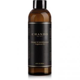 Chando Fragrance Oil Ginger & Sandalwood náhradní náplň  200 ml