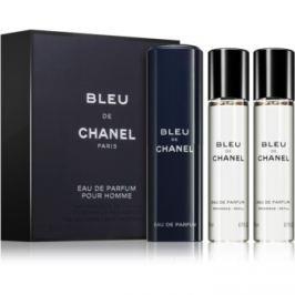 Chanel Bleu de Chanel parfémovaná voda pro muže 3 x 20 ml (3 x náplň)