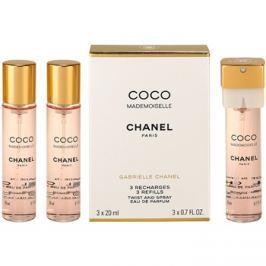 Chanel Coco Mademoiselle parfémovaná voda pro ženy 3x20 ml (3 x náplň)
