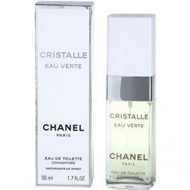Chanel Cristalle Eau Verte Concentrée toaletní voda pro ženy 50 ml