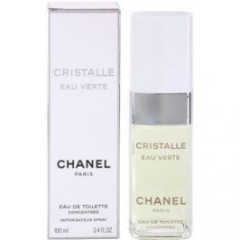 Chanel Cristalle Eau Verte Concentrée toaletní voda pro ženy 100 ml