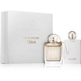Chloé Love Story dárková sada I. parfémovaná voda 50 ml + tělové mléko 100 ml