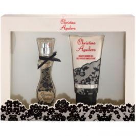 Christina Aguilera Christina Aguilera dárková sada II. parfémovaná voda 15 ml + sprchový gel 50 ml
