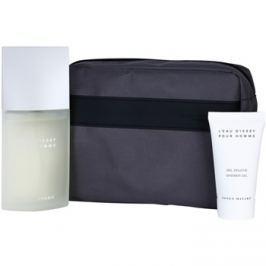 Issey Miyake L'Eau D'Issey Pour Homme dárková sada IV. toaletní voda 125 ml + sprchový gel 75 ml + kosmetická taška