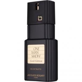 Jacques Bogart One Man Show Gold Edition toaletní voda pro muže 100 ml