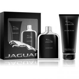 Jaguar Classic Black dárková sada I. toaletní voda 100 ml + sprchový gel 200 ml