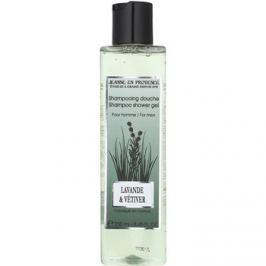 Jeanne en Provence Lavander & Vétiver sprchový gel pro muže 250 ml