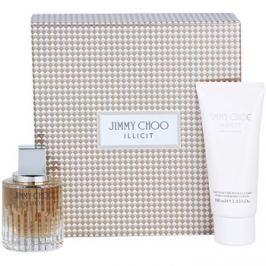 Jimmy Choo Illicit dárková sada II. parfémovaná voda 60 ml + tělové mléko 100 ml