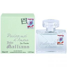 John Galliano Parlez-Moi d´Amour Eau Fraiche toaletní voda pro ženy 30 ml