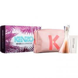 Kenzo Jeu D'Amour dárková sada I. parfémovaná voda 100 ml + tělové mléko 50 ml + taštička dárková sada