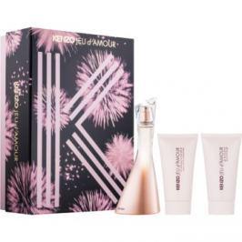 Kenzo Jeu D'Amour dárková sada II.  parfémovaná voda 50 ml + tělové mléko 50 ml + sprchový gel 50 ml