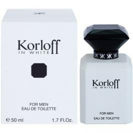 Korloff In White toaletní voda pro muže 50 ml toaletní voda