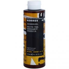 Korres White Tea (Bergamot/Freesia) sprchový gel unisex 250 ml