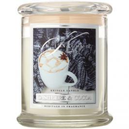 Kringle Candle Cashmere & Cocoa vonná svíčka 411 g
