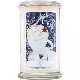 Kringle Candle Cashmere & Cocoa vonná svíčka 624 g